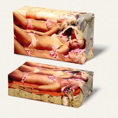 Kleins Soap- four bathers