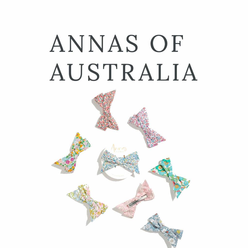 Annas of Australia Logo